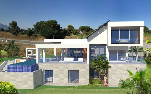 Spacious family villa for sale in Marbella - image 1-525x328 on https://www.laconchaliving.com