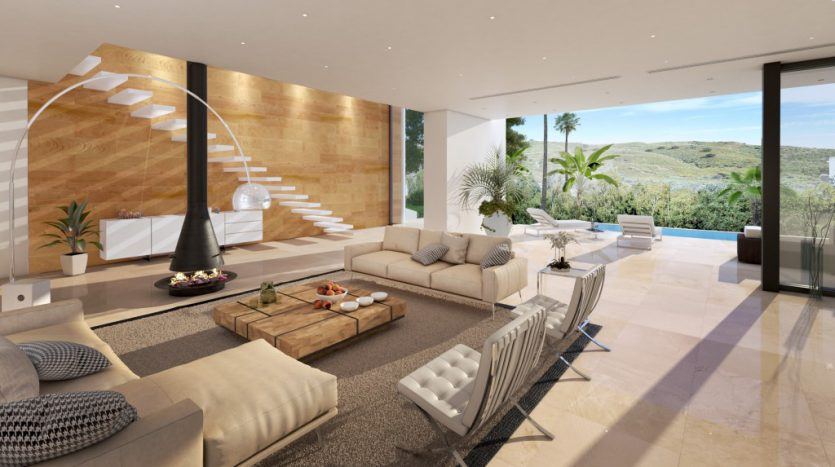 Contemporary elegance and delightful presence - image 2_Living-835x467 on https://www.laconchaliving.com