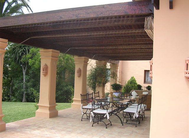 Villa in Las Chapas - image 85-Pergola-640x467 on https://www.laconchaliving.com