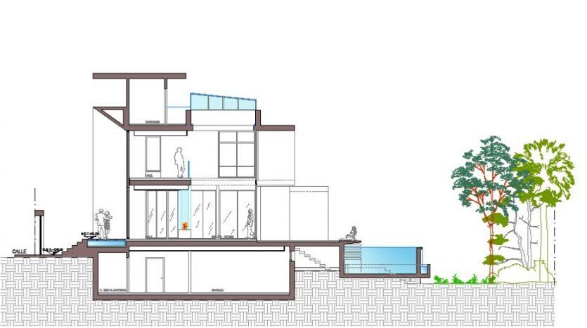 Contemporary villa in Valle Romano Golf Estepona - image Valle-Romano-Villa-Belma-5-835x467 on https://www.laconchaliving.com