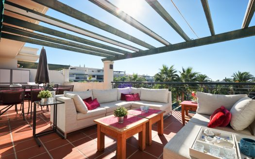 New contemporary luxury villa Marbella - image Penthouse-Nueva-Andalusia-Puerto-Banus-1-525x328 on https://www.laconchaliving.com