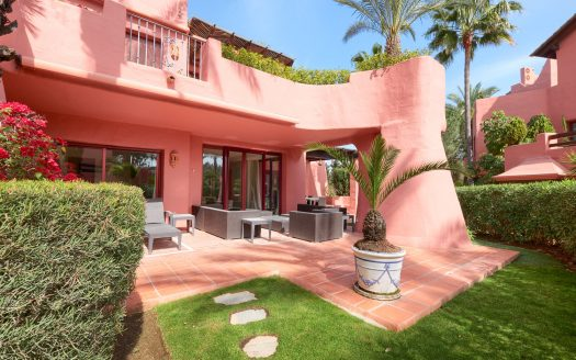 Apartment at the beach promenade of Marbella - image 1-Garden-terrace-Menara-525x328 on https://www.laconchaliving.com