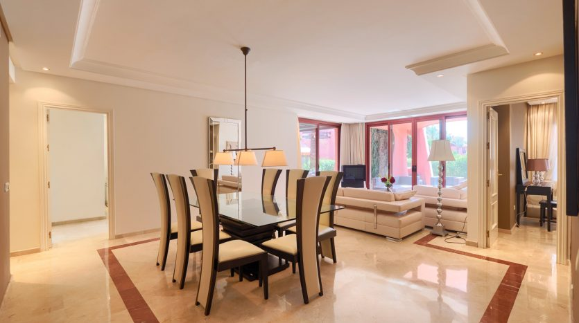 Beachside ground floor apartment - image 4-Dining-Menara-835x467 on https://www.laconchaliving.com