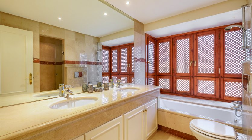 Beachside ground floor apartment - image 7-Bathroom-Menara-835x467 on https://www.laconchaliving.com