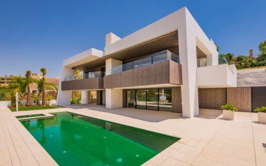 New contemporary luxury villa Marbella