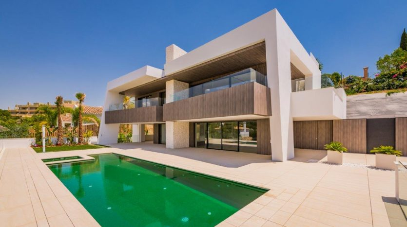New contemporary luxury villa Marbella