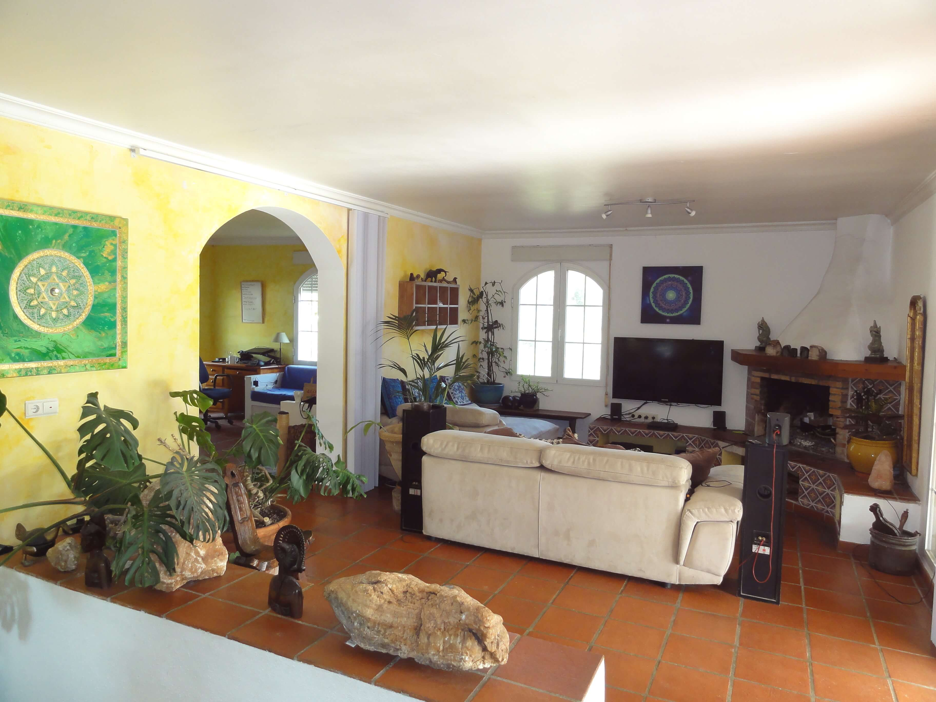 beautiful country villa in a natural environment between Mijas and Fuengirola
